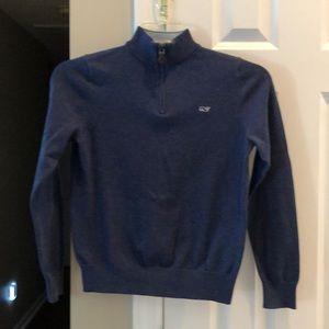 Boys Vineyard vine pullover sweater size 12/14